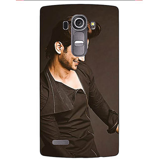 Enhance Your Phone Bollywood Superstar Sushant Singh Rajput Back Cover Case For LG G4