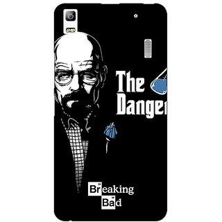 Enhance Your Phone Breaking Bad Heisenberg Back Cover Case For Lenovo K3 Note