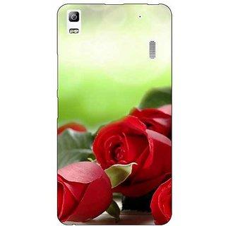 Enhance Your Phone Roses Back Cover Case For Lenovo K3 Note
