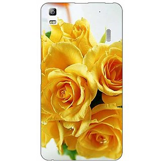 Enhance Your Phone Roses Back Cover Case For Lenovo K3 Note