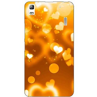 Enhance Your Phone Heart Bubbles Back Cover Case For Lenovo K3 Note