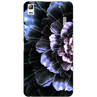 Enhance Your Phone Abstract Flower Pattern Back Cover Case For Lenovo K3 Note
