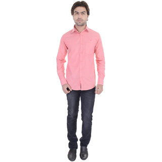Beautiful-Pink-Cotton-Shirt-From The House OfDress.com