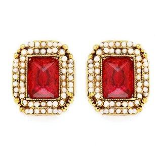 Sukkhi Fancy Gold Plated Pearl Earring For Women