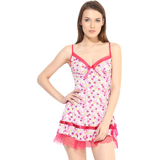 BabyDoll Lingerie - Nightdress Ruby-42