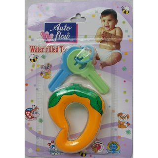 Auto Flow Water Filled Toy Teether - Mango - BT17