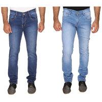 KeepSake Trendy Dark Blue  Light Blue Jeans Combo
