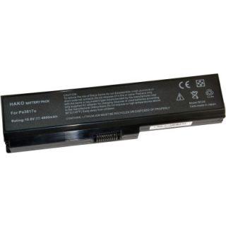 Hako Toshiba PA3636U-1BRL PA3817U-1BRS 6 Cell Laptop Battery
