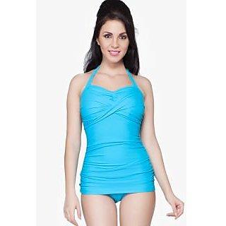 Nidhi Munim Turquoise swimdress