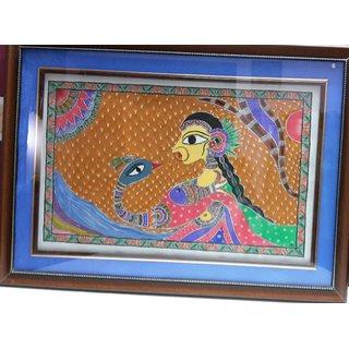 anu criation traditional madhubani painting
