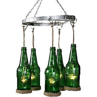 5 Bottle Chandelier