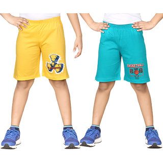 DONGLI BOYS KNEE SHORTS (PACK OF 2)
