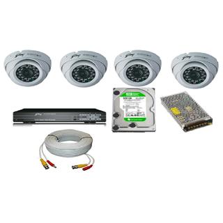Godrej IR Dome Camera ET-100IRMD-A With 4 CH DVR ET-4C1