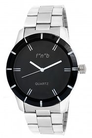 FNB Black Dial Analouge Watch For Man Fnb-0109