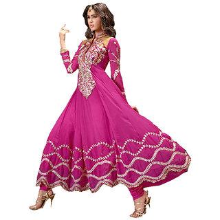 Fair Pink Anarkali - 7767