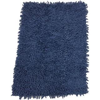 Bathmat Cotton Blue (Karisma-Dark Blue-1)
