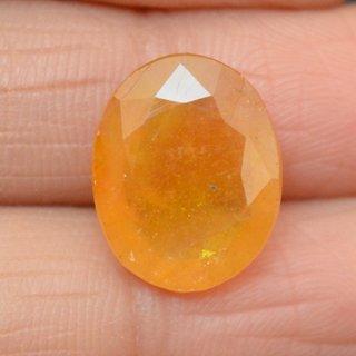 9.95 Ct 10.93 Ratti Oval Shape Natural Beautiful Yellow Sapphire (Pukhraj) Loose Gemstone YS100