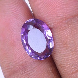 4.6 Ct 5.05 Ratti Oval Shape Beautiful Natural Amethyst (Katella) Loose Gemstone - AME07