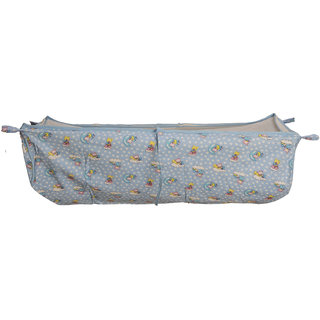 Love Baby 571 Cradel Cloth With Side Net (Blue)