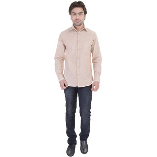 Beautiful-Beige-Cotton-Shirt-From The House Of Dress.com