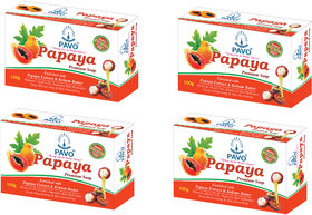PAVO Papaya Premium Soap