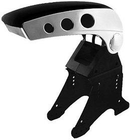 AutoSun Stylish Dual Tone Console - Car Armrest (Black,