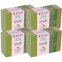 Khadi Mauri Khas Soap - Pack of 4 - Premium Handcrafted Herbal