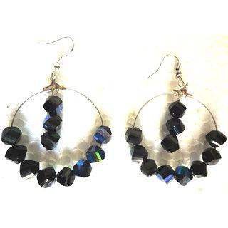 Beautiful Black  Multi color  Earring