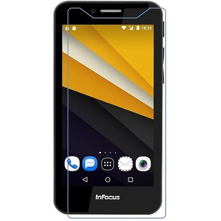 Snaptic 25D Curved Edge HD Tempered Glass For Infocus M260