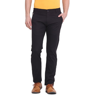 Virtue Men Brown Casual Slim Fit Trouser (VRT101STR-CT)