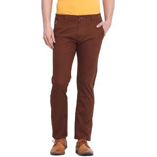 Virtue Men Black Casual Slim Fit Trouser (VRT102STR-CT)