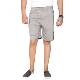 Swaggy Grey Hosiery Shorts for Men