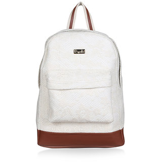 Paprika Off White Colour Back Pack