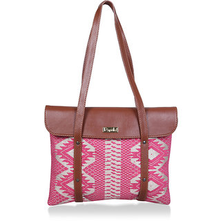 Paprika Pink Colour Handbag