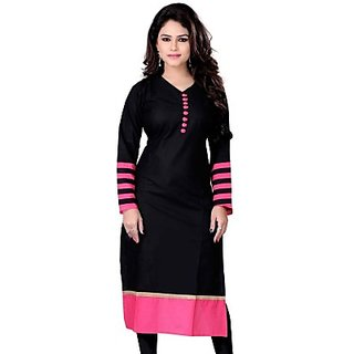 The Style Story Casual Solid Womens Kurti