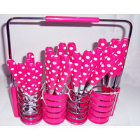 Princess 24 Pcs. Cutlery Set With Stylish Stand
