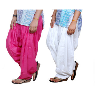 Indistar Womens Premium Cotton Patiala Salwar Combo Pack of 2 7130171309-IW