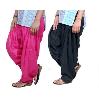 Indistar Womens Premium Cotton Patiala Salwar Combo Pack of 2 7130171310-IW