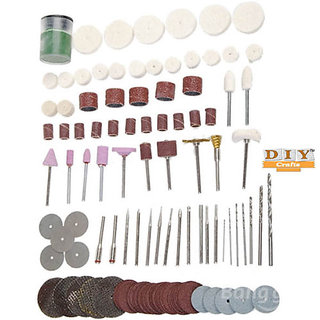 Tools DIY Crafts..115pcs Rotary Tool Set Grinding Carving-Polishing Grinder Head