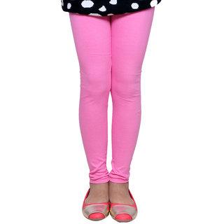 Indiweaves GirlS Super Soft Cotton Pink Leggings