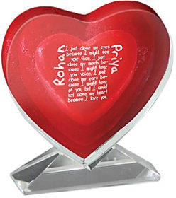 Heart shape photocrystal