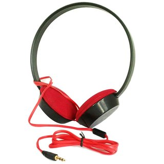 Kewin UB-215 Headphone Type (Black/Red)