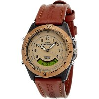 Timex Quartz Brown Round Men Watch UTMF13