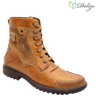 Delize Mens Tan Boots