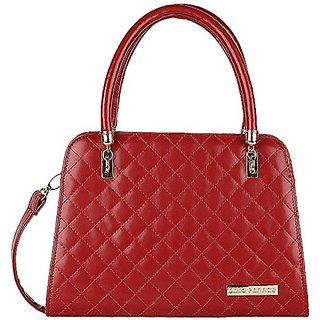 Designer Purse Womens Handbag (Red)