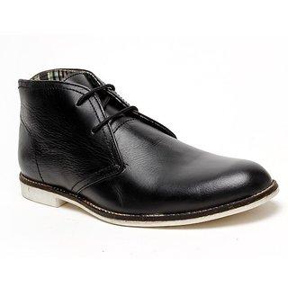 Delize Men's Black Ankle Boots