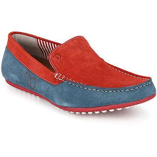 Delize Men's Rose & Denim Loafers