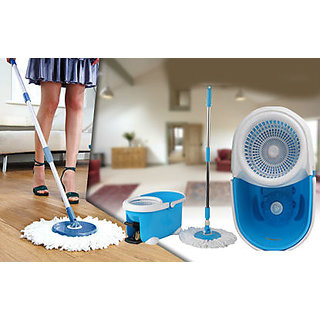 2 pcs Magic Spin Mop - Cleaning Mop