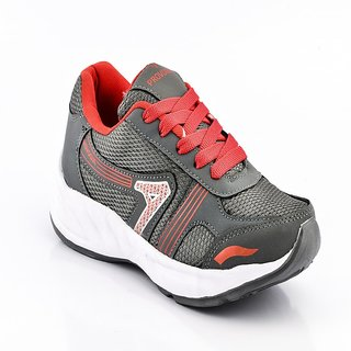 Provogue Men's Gray Sports Shoes