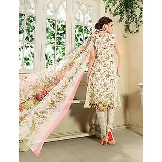 Multi Colour Georgette Suit For Women